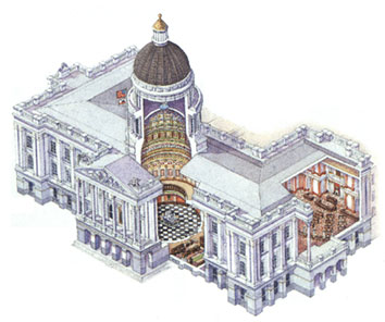 Architecture california state capitol museum in sacramento california the senate and the assembly the two houses of the california state legislature who occupy the south and north wings of the capitol respectively malvernweather Gallery
