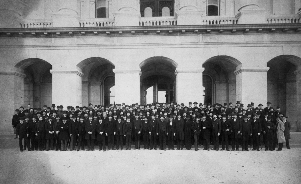 Members of the first Legislature 1869