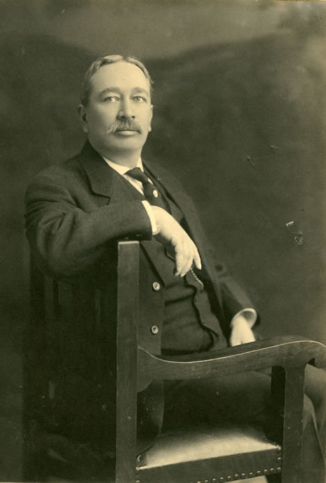 Photograph of James L. Gillis, the fifteenth State Librarian