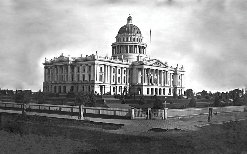 1879 Capitol and Grounds