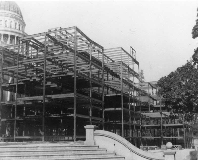 State Capitol Annex Building in Progress