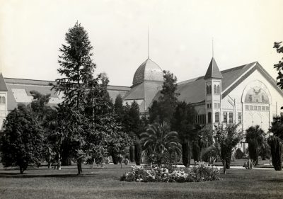 Agricultural Pavilion in Capitol Park 1890s