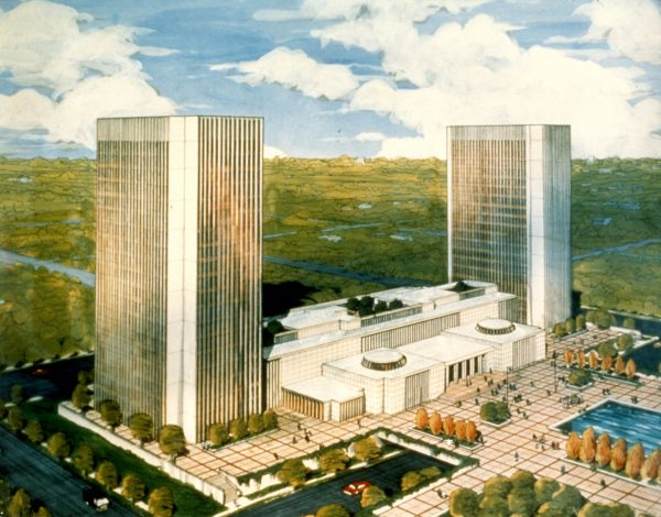 Another architectural proposal for Collier Towers 1960s