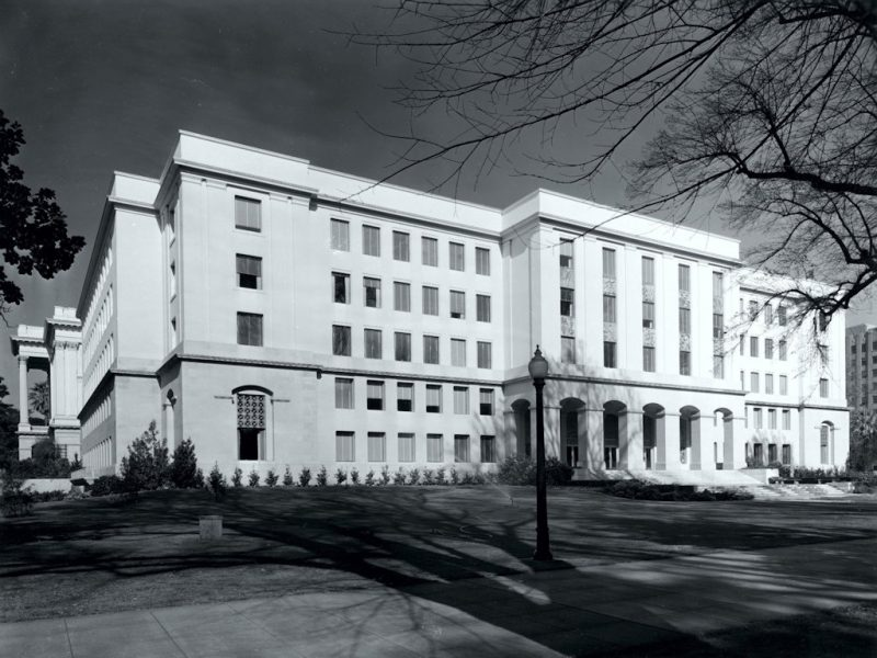 Completed East Annex 1950s