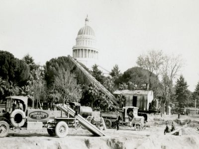 Construction of the Capitol Extension early 1920s