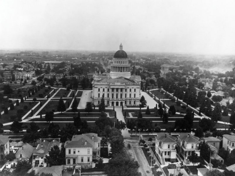 Northern Capitol and grounds 1891