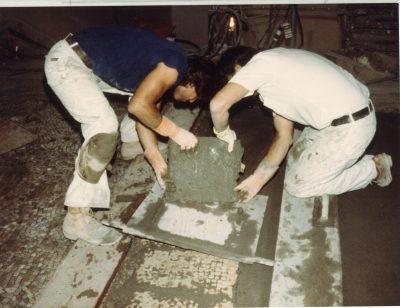 Removing and Saving Original Mosaics