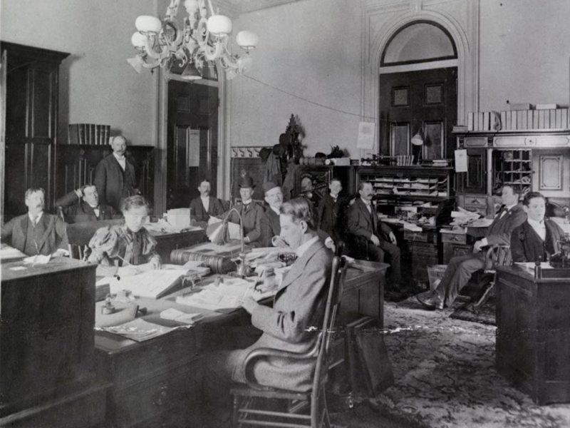 Secretary of States Office 1899