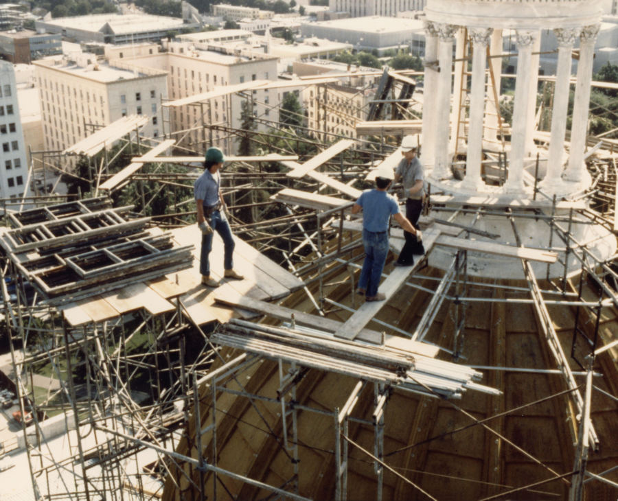 Fixing Capitol Dome Structural Integrity