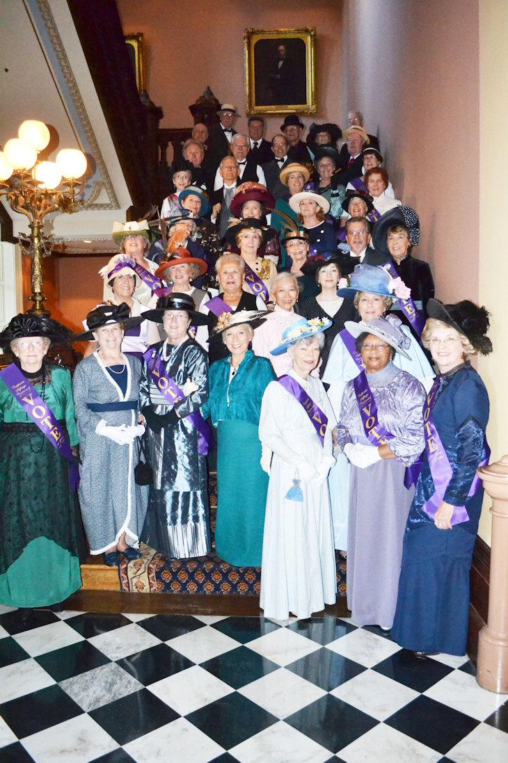 Volunteer living history program 2005