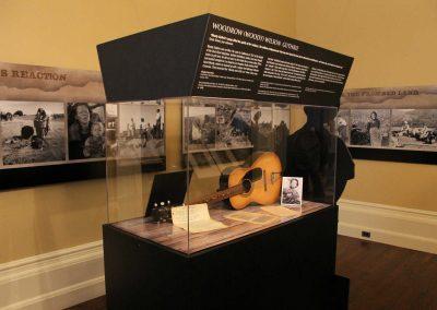 Dust Bowl Exhibit Room - Guthrie's Guitar