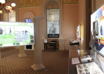 Dust Bowl Exhibit Room