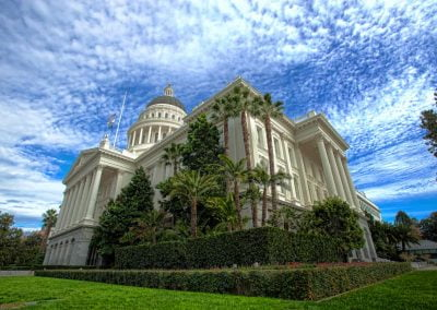 California State Capitol South West
