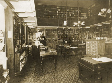 historic library